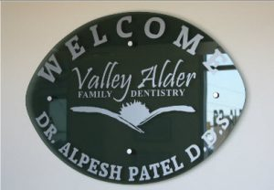 Image of Valley Alder Family Dentistry sign board